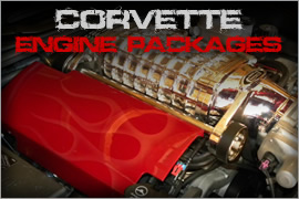 Corvette Engine Packages