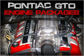 GTO Engine Packages